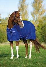 Horseware Amigo Turnout Hero 6 600 D lite Atlantic Blue 155 - 1