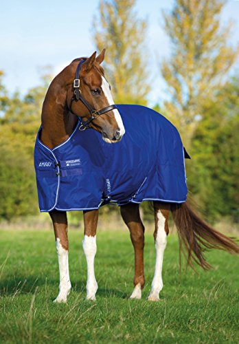 Horseware Amigo Turnout Hero 6 600 D lite Atlantic Blue 155 - 1