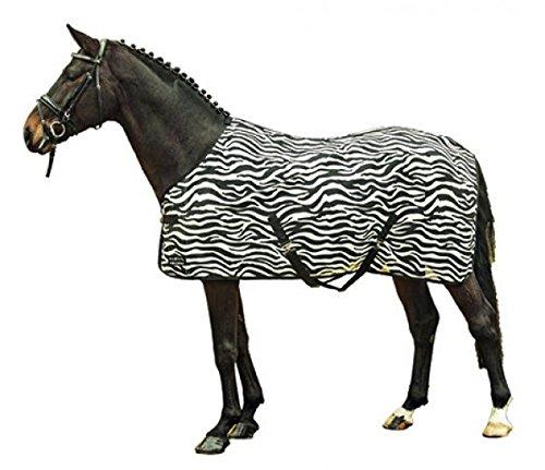 HKM 550679 Fliegendecke Zebra mit Kreuzgurt, L -