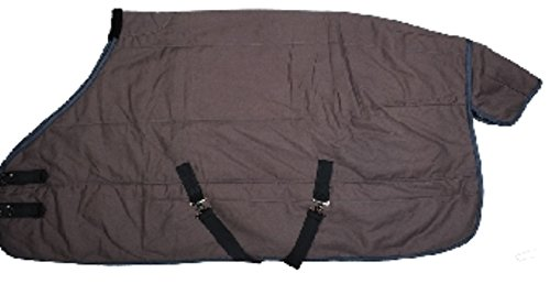HKM Canvas Winter Pferdedecke Stalldecke 200g Gr. 155 -