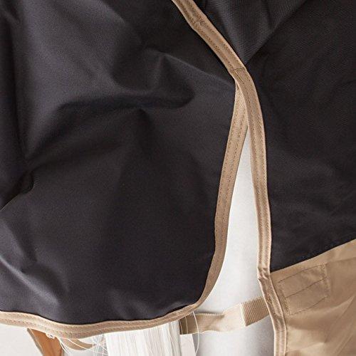 Horseware Amigo Mio Turnout Lite 0g - Navy & Tan with Navy - Weidedecke, Groesse:145 -