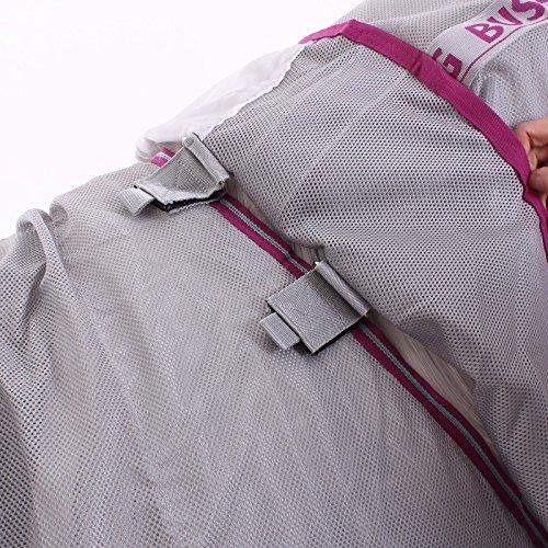 Horseware Fliegendecke Amigo Bug Buster Vamoose Silver/Purple & Mint 115-160 (145) -