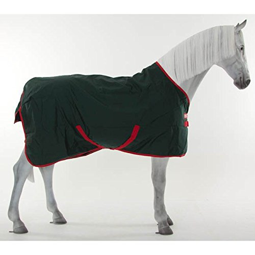 Horseware Rambo Original - Winterdecke oder Regendecke 145cm ohne Füllung green/red -