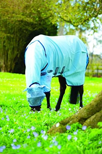 Horseware Rambo Sweetitch Hoody Vamoose Ekzemerdecke mit Gesichtsmaske Fliegendecke 140 -