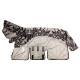 Horseware regengeeignete Fliegendecke Amigo Three-In-One Vamoose Silver/Black (printed) 100-165 (160) -