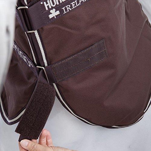 Winterdecke Horseware Amigo Bravo 12 - Pferdedecken Halsteil M Chocolate/Choc & Cream ohne Füllung -