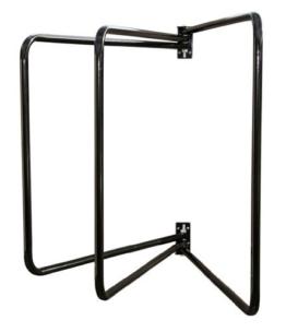 Kerbl 32686 Deckenhalter 3-armig, schwarz schwenkbar -